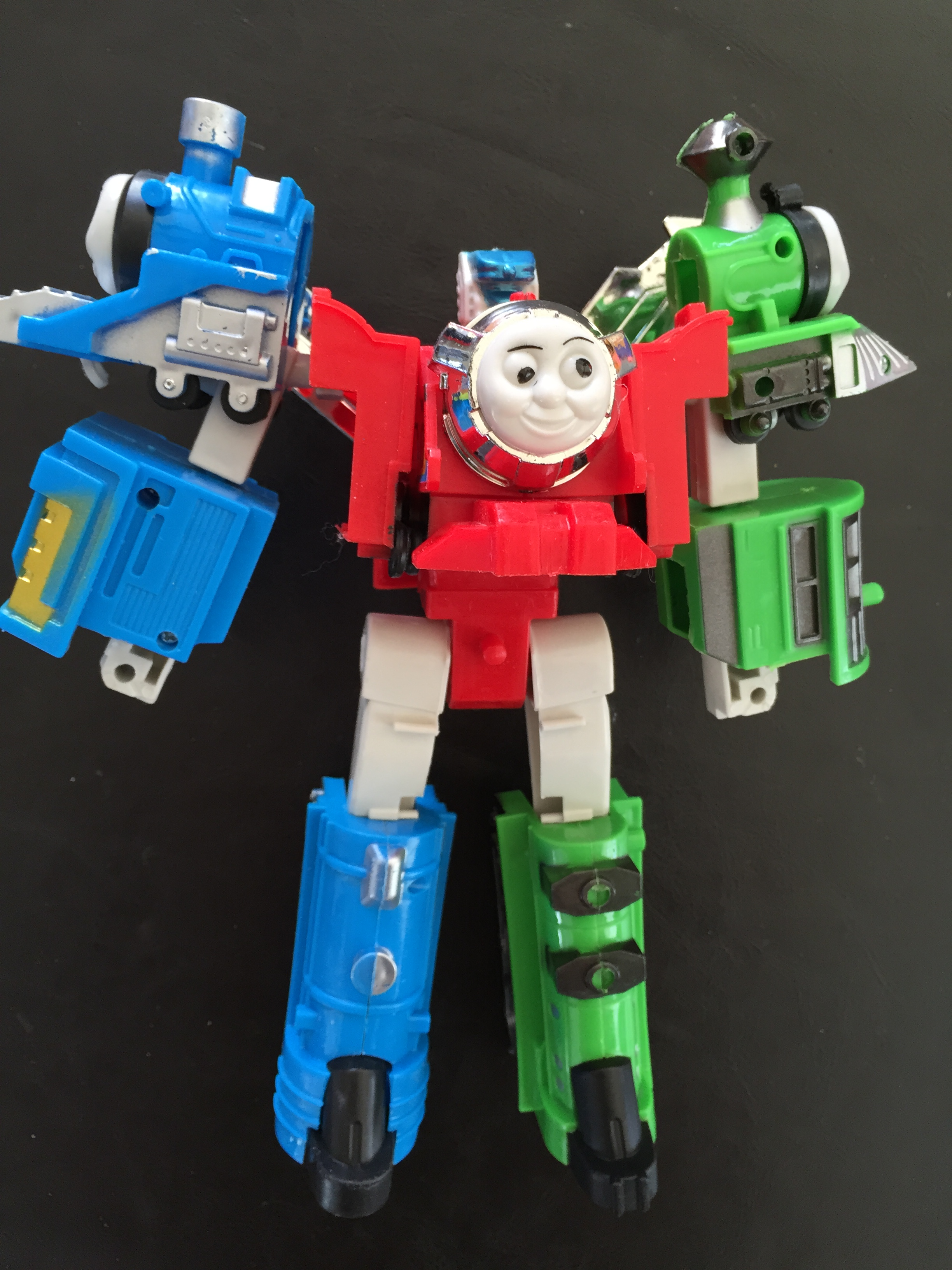 Transformer Thomas The Tank engine Train Gestalt Devastator
