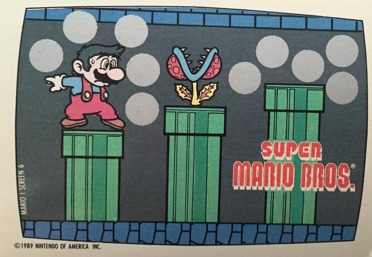"""Nintendo/Topps """"Game Packs"""" 1989 cards"""