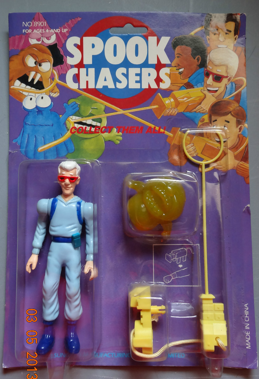 Ghostbusters Spook Chasers Peter Ray egon Winston Retro cartoon Toy Cheap Knock Off Bootleg Clone Knockoffnerd.com