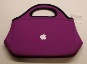 Apple lunch bag