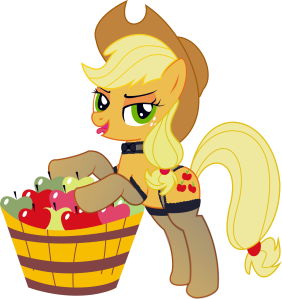 My Little Pony MLP Sexy Apple Jack art