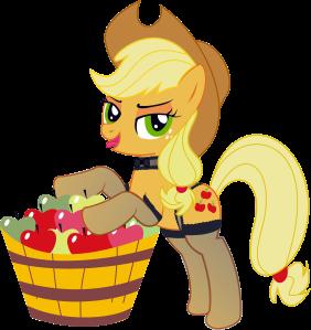 My Little Pony MLP Sexy Apple Jack art