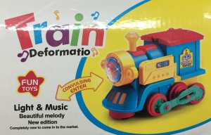 Transforming Toy Train for Kids