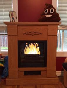 Mac Zelda Fireplace Poop Emoji