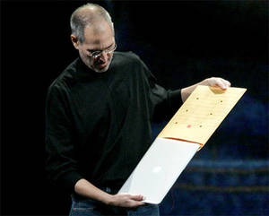 Steve Jobs Macbook Air envelope