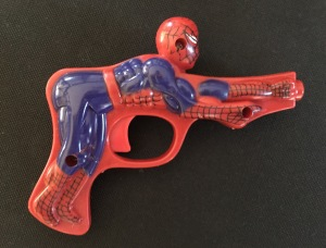 Spiderman Penis Trigger toy gun