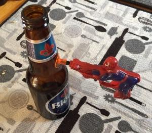 Spiderman Penis Trigger toy gun