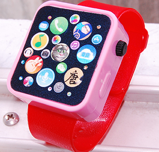 Apple Watch pwatch iWatch kids musical toy Cheap Knock Off Bootleg Clone